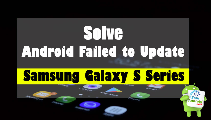 How to Fix Android System Update Failed to Install