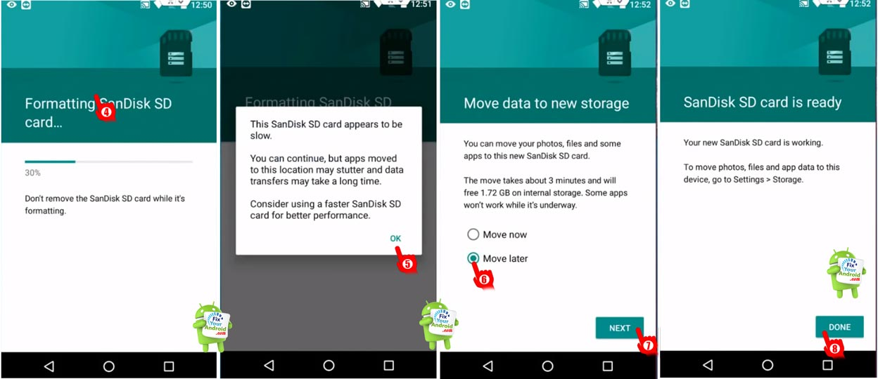 Use external SD card as internal phone storage2