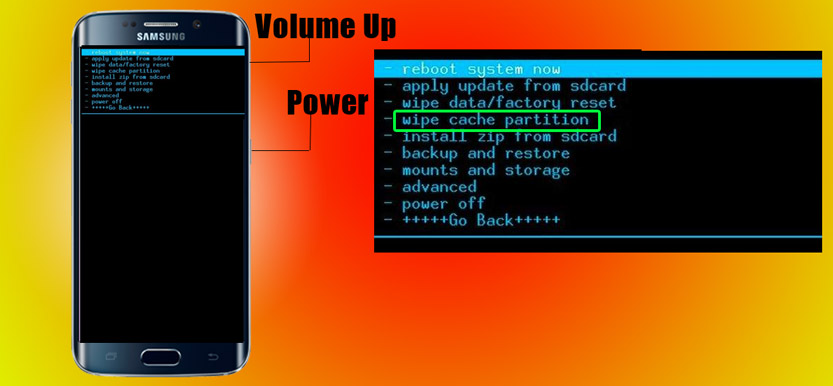 Clear Android Cache Partition using Recovery mode