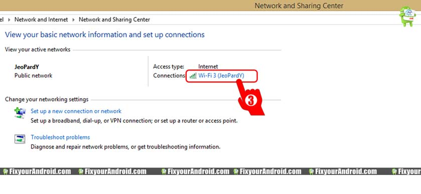 Click-on-the-currently-connected-network