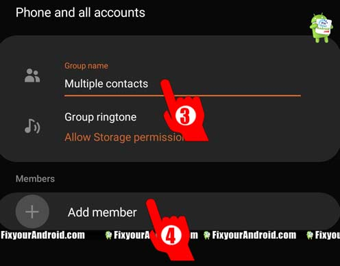 Create-a-Contact-Group-to-send-text-message-to-multiple-contacts-in-Android3