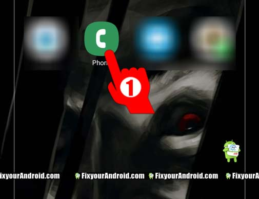 Forward-calls-on-Voicemail-on-Android-step1