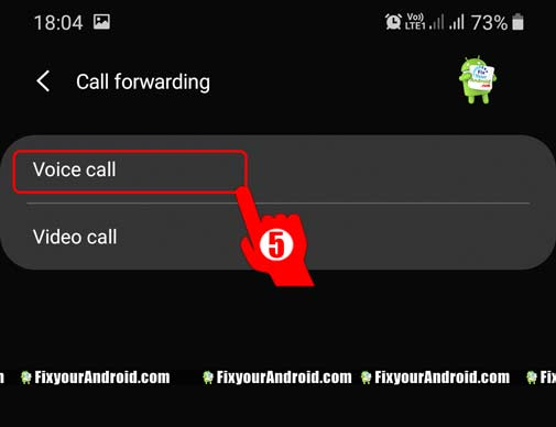 Forward-calls-on-Voicemail-on-Android-step5