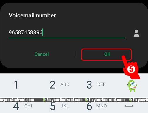 Seting-up-Voicemail-number-dialer-setting-step5