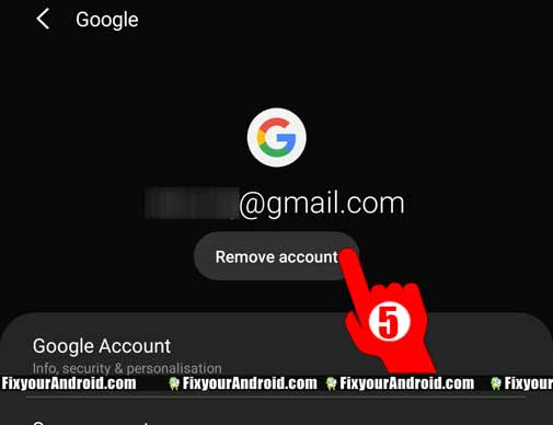 Sign-out-Play-store-Android-using-settiings-step5