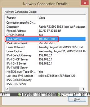 default-gateway-listed-as-IPv4