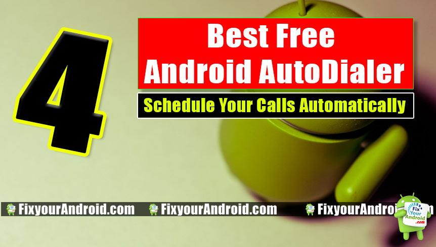 Best Android Auto Dialer