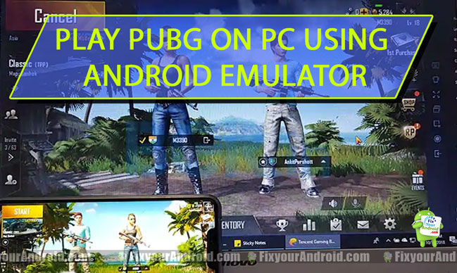 Android emulator for pubg mobile on pc