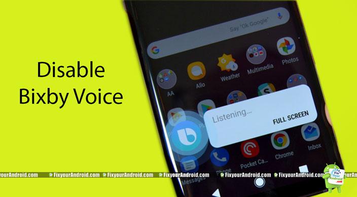 Disable-Bixby-Voice