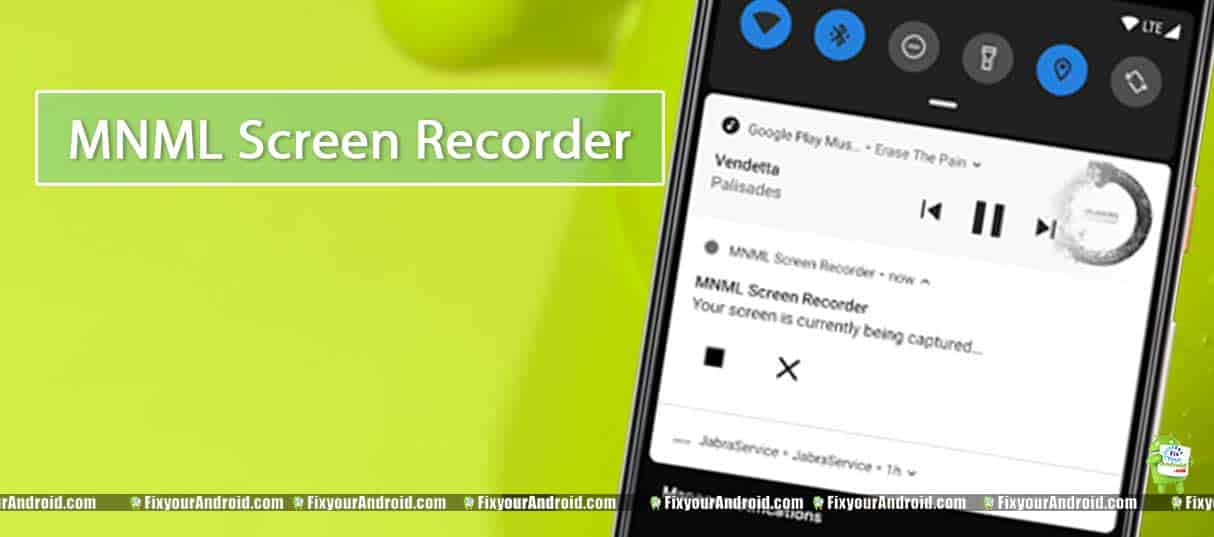 MNML-Screen-Recorder-android