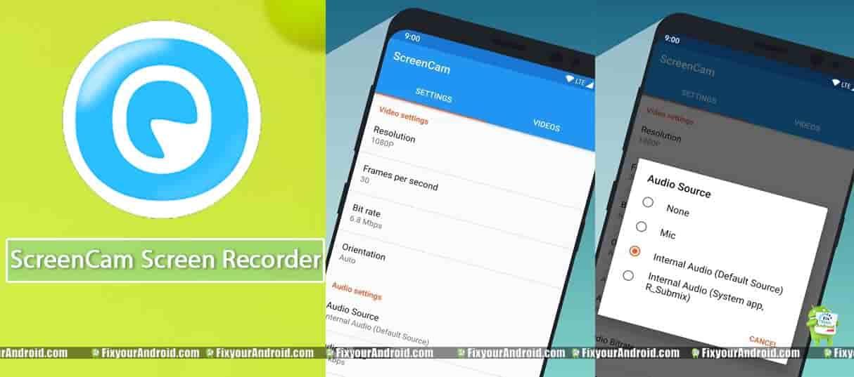 ScreenCam-Screen-Recorder
