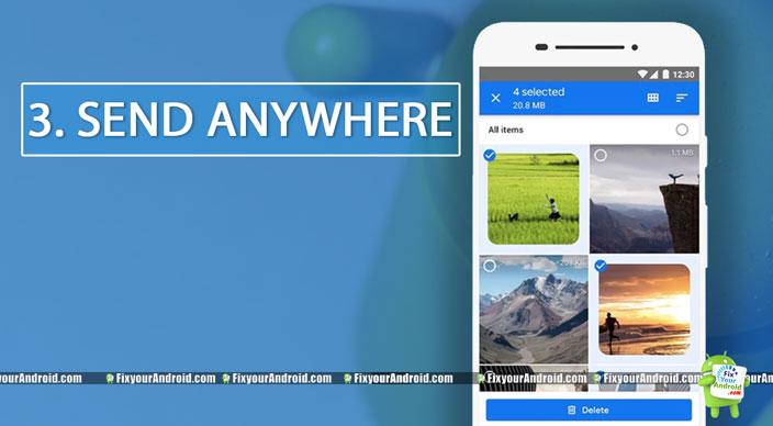 SendAnywhere-secured-file-sharing-app