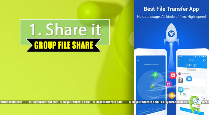 Shareit-group-file-sharing-app-android