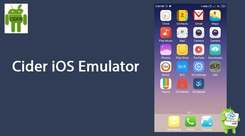 Cider-iOS-Emulator