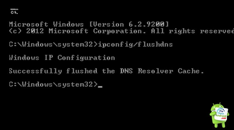 fix-failed-to-obtain-ip-address-android-flush-dns