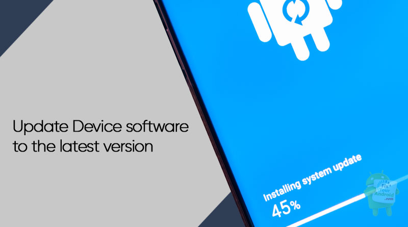 Update-Device-software-to-the-latest-version