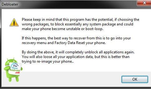 remove-Android-bloatware-using-pc-Debloater
