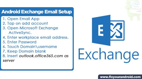 Email-Exchange-Android-Setup