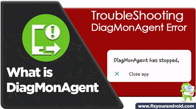 What is DiagMonAgent on Samsung Android