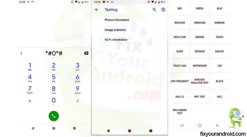 Diagnostics Tests Android