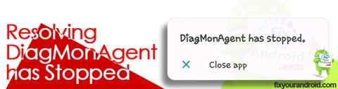 resolving DiagMonAgent has Stopped error