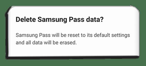 turn off Samsung Pass