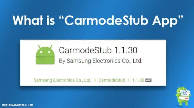 CarmodeStub-App