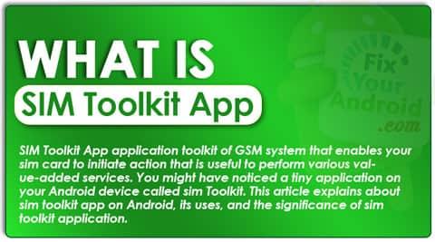 What is SIM Toolkit App