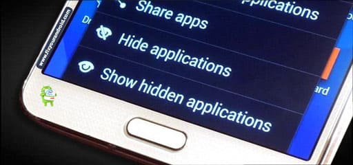 methods to hide apps on android