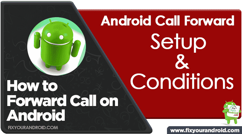 forward calls on android