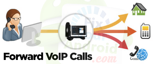 Forward VOIP calls android