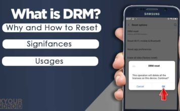 What is a DRM Reset How to Reset DRM on Smartphone