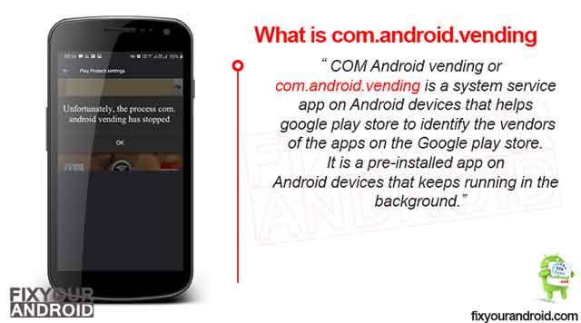 What is COM Android vending?