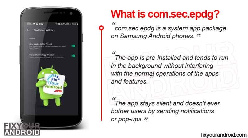 What is com.sec.epdg?
