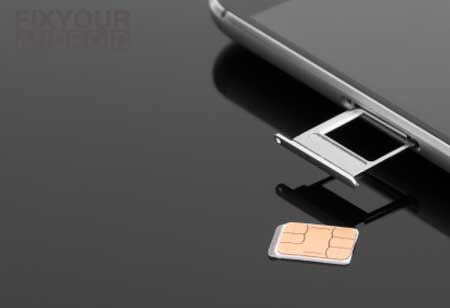 fix no sim card error remove insert sim card