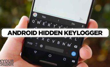 How To Find and Remove Hidden Keylogger From Android