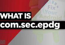 what is com.sec.epdg