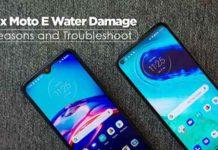 Fix Moto E Water Damage