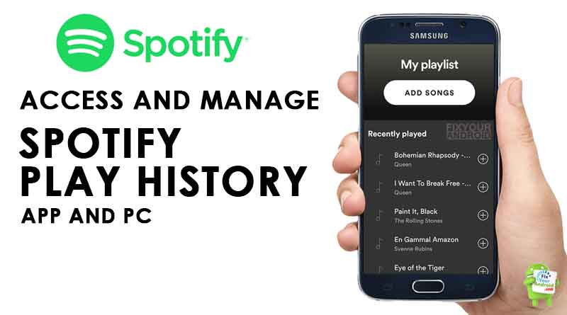 Access Spotify Play History