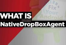 what is NativeDropBoxAgent