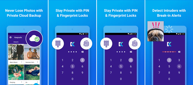 KeepSafe Cloud- Your Private Data Cloud Store for Android
